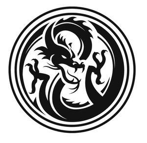 šablona drak 1a