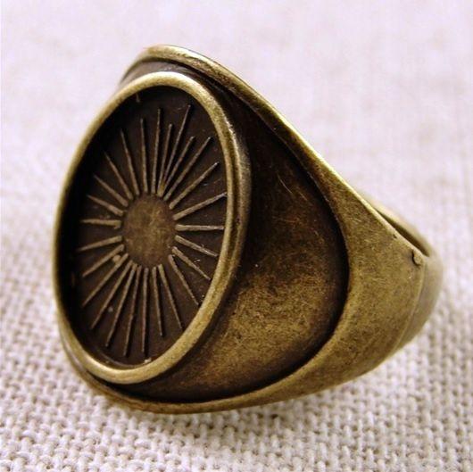 lůžko prsten starobronz