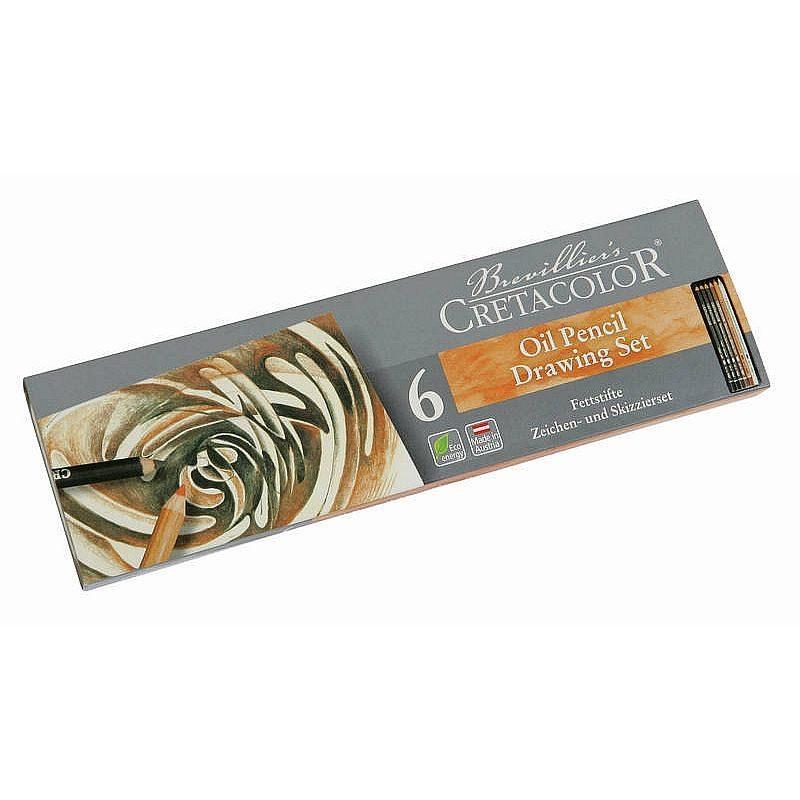 Cretacolor Sada olejových tužek (6 ks)
