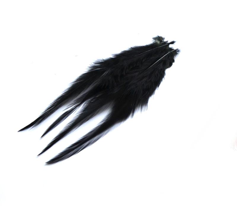 Kohoutí peří černé