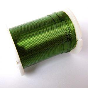 zelený drátek