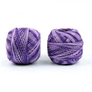 háčkovací příze fialová