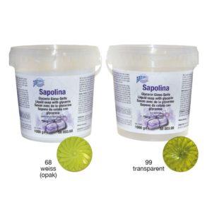 mýdlová hmota sapolina