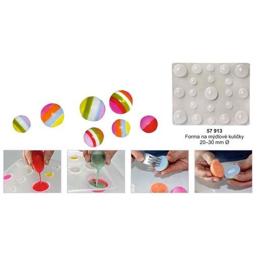 mýdlové kuličky výroba