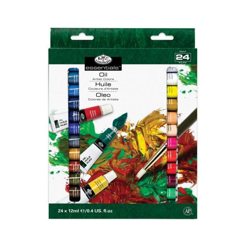 olejové barvy 24 x 12