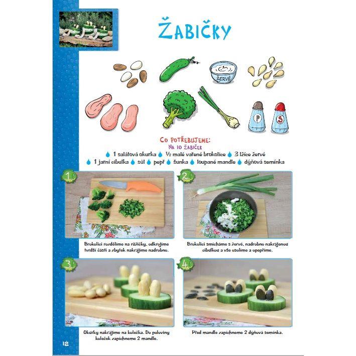 receptíky 3 žabky 1