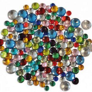 skleněné kamínky